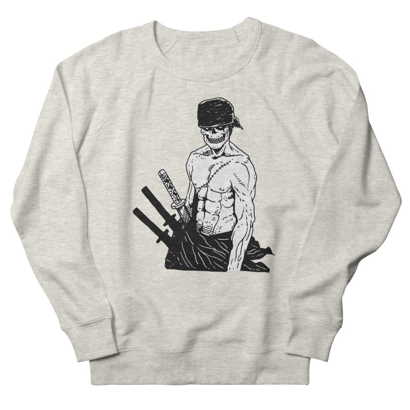 Skvllified Zoro Women's French Terry Sweatshirt by skullpel illustrations's Artist Shop