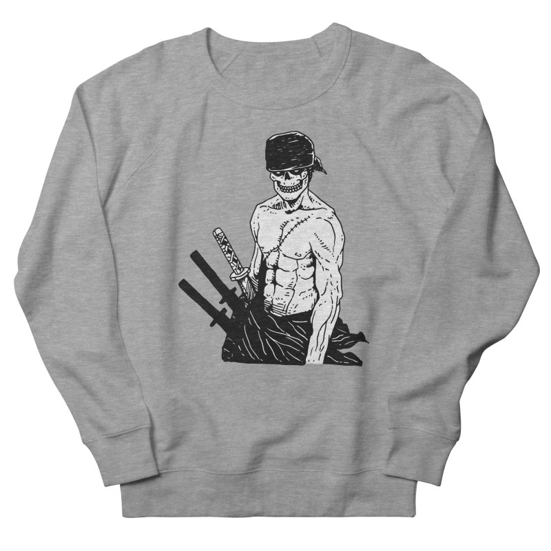 Skvllified Zoro Men's French Terry Sweatshirt by skullpel illustrations's Artist Shop