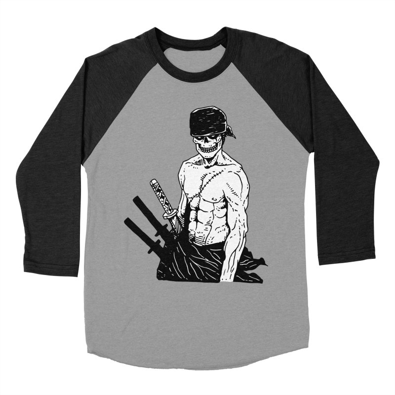 Skvllified Zoro Women's Baseball Triblend Longsleeve T-Shirt by skullpel illustrations's Artist Shop