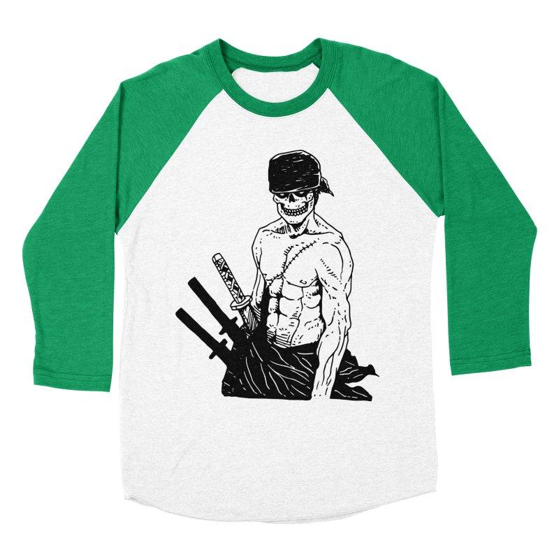 Skvllified Zoro Men's Baseball Triblend Longsleeve T-Shirt by skullpel illustrations's Artist Shop