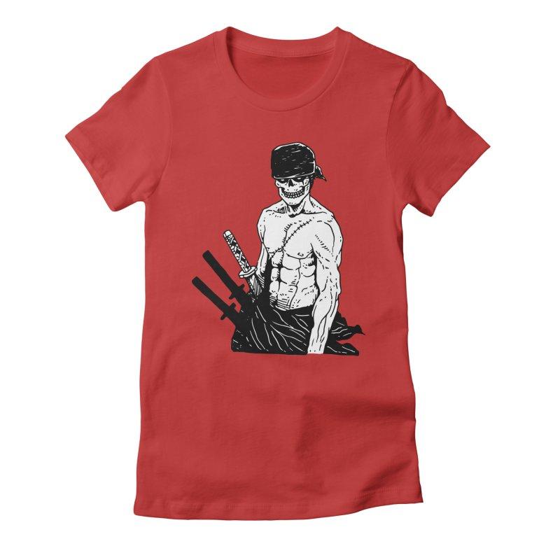Skvllified Zoro Women's Fitted T-Shirt by skullpel illustrations's Artist Shop