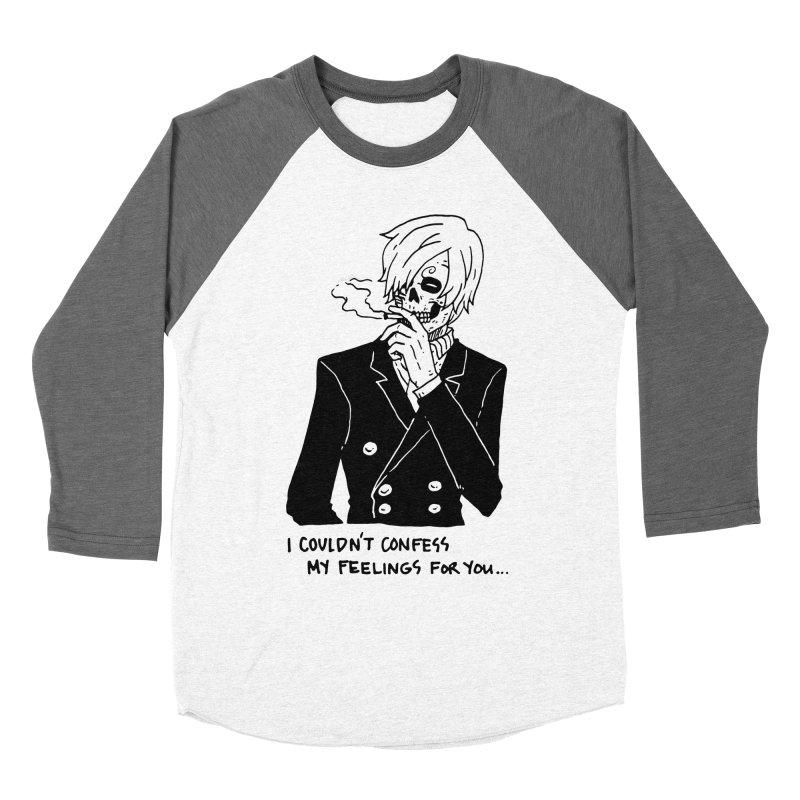 OP: Skvllified Sanji-sama Men's Baseball Triblend Longsleeve T-Shirt by skullpel illustrations's Artist Shop