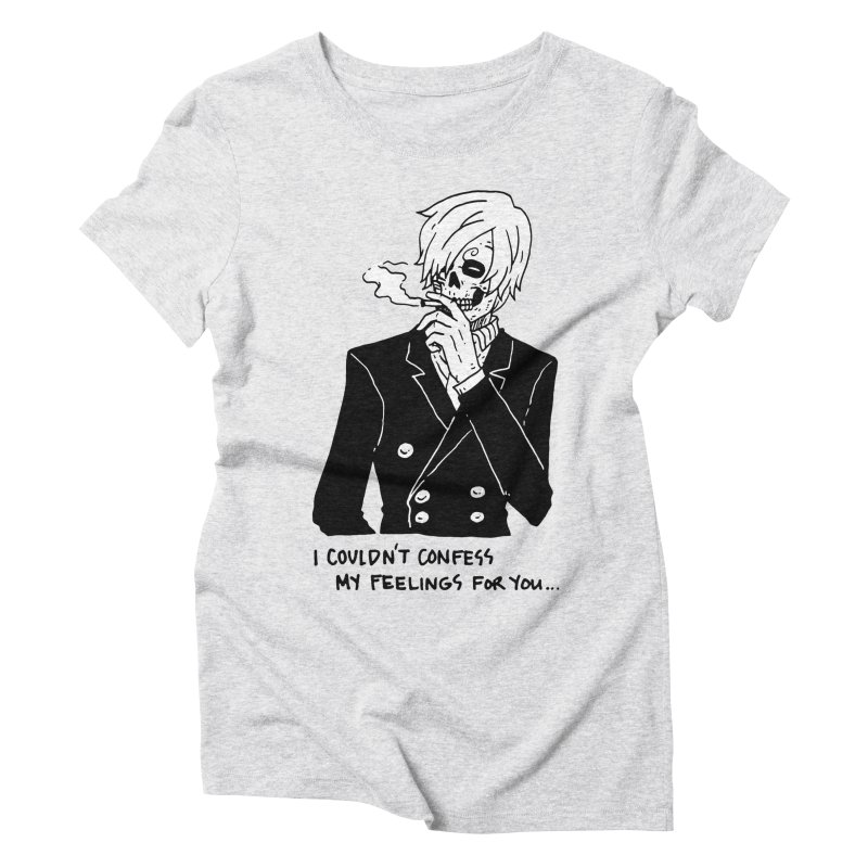 OP: Skvllified Sanji-sama Women's Triblend T-Shirt by skullpel illustrations's Artist Shop