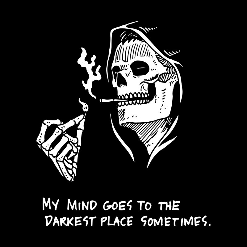 Deepest, Darkest Place by skullpel illustrations's Artist Shop