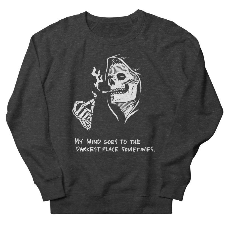 Deepest, Darkest Place Men's French Terry Sweatshirt by skullpel illustrations's Artist Shop