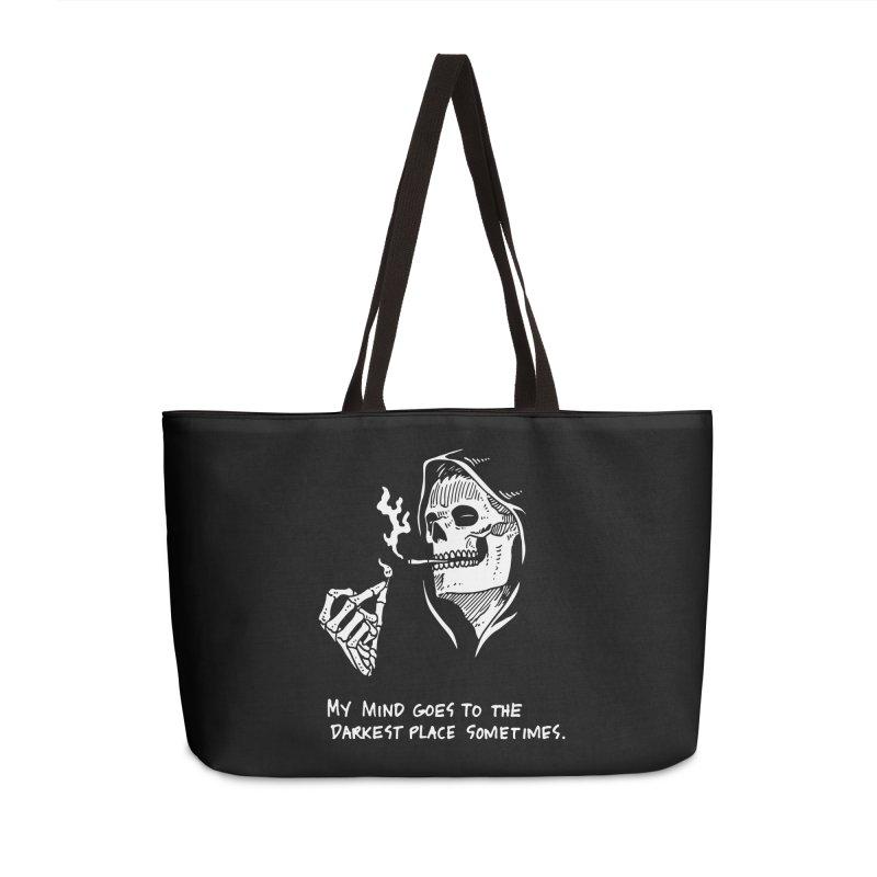 Deepest, Darkest Place Accessories Weekender Bag Bag by skullpel illustrations's Artist Shop