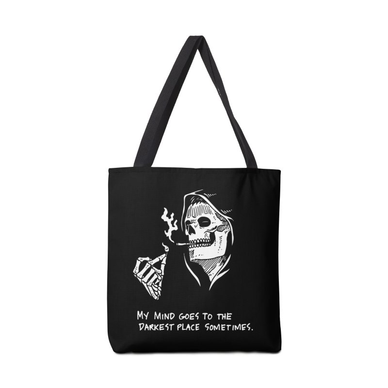 Deepest, Darkest Place Accessories Tote Bag Bag by skullpel illustrations's Artist Shop