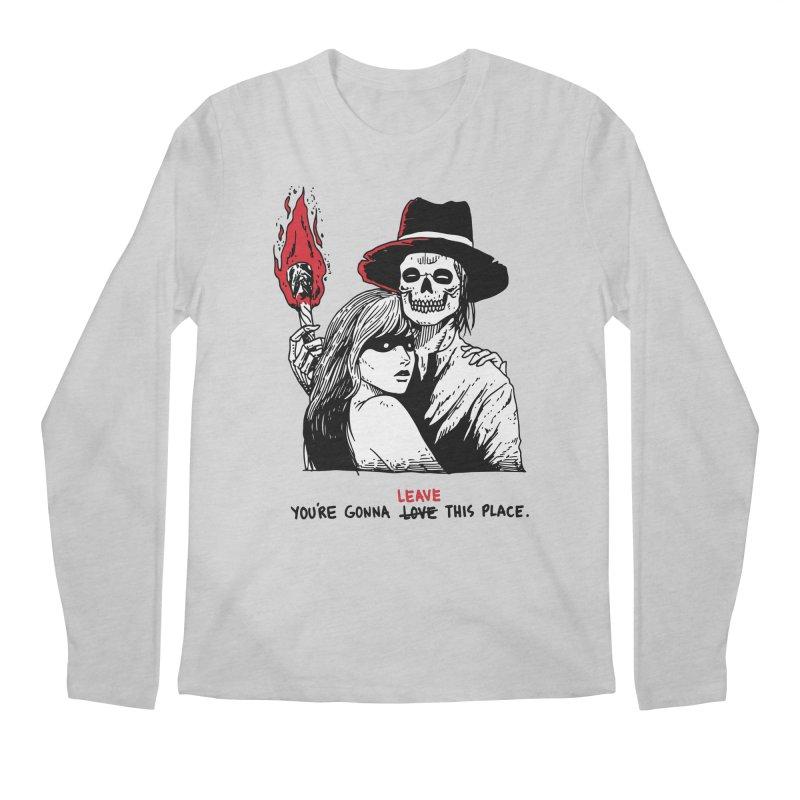You're Gonna Leave This Place Men's Regular Longsleeve T-Shirt by skullpel illustrations's Artist Shop