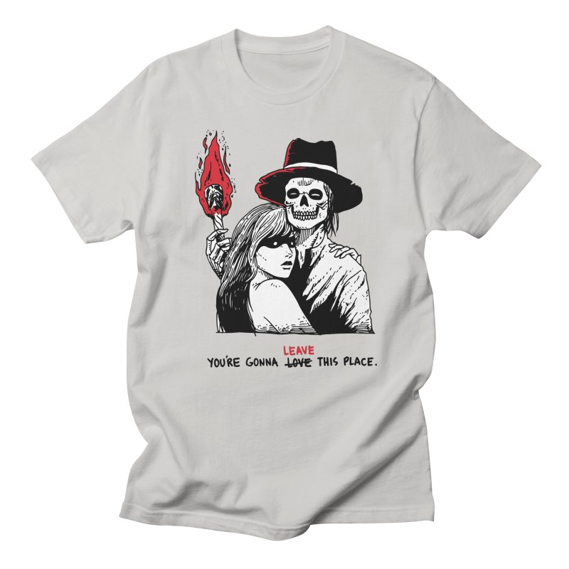 You're Gonna Leave This Place Men's Regular T-Shirt by skullpel illustrations's Artist Shop