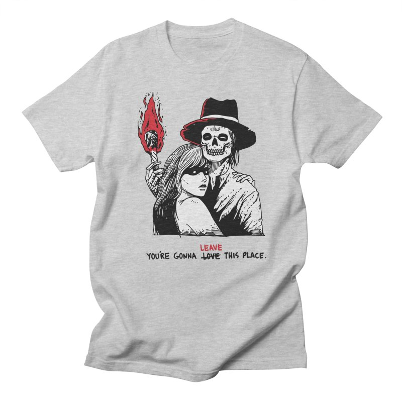 You're Gonna Leave This Place Women's Regular Unisex T-Shirt by skullpel illustrations's Artist Shop