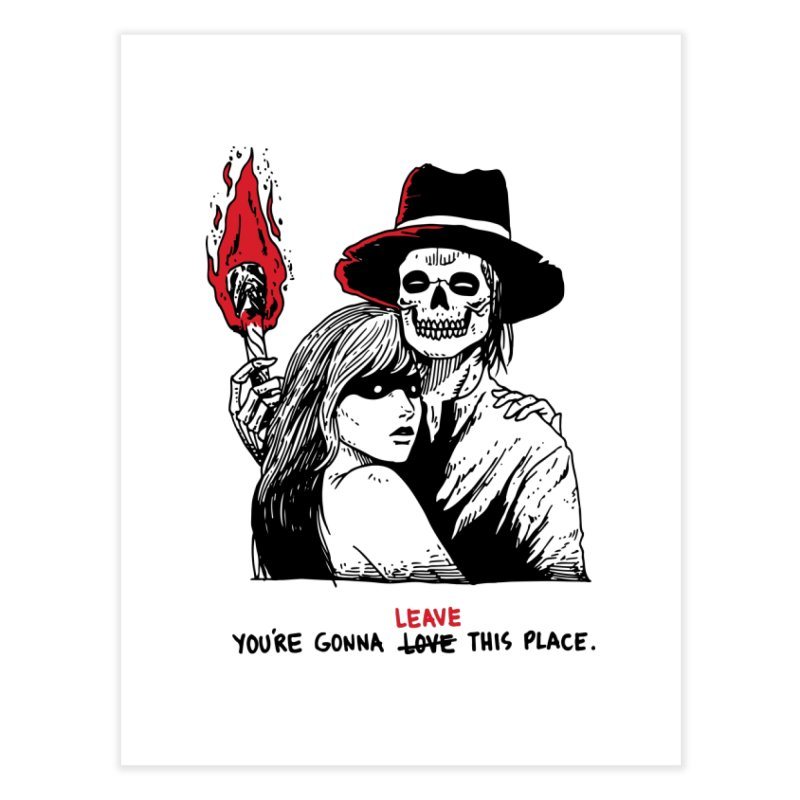 You're Gonna Leave This Place Home Fine Art Print by skullpel illustrations's Artist Shop