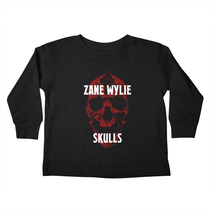Red Chaplain 3 Kids Toddler Longsleeve T-Shirt by skullprops's Artist Shop