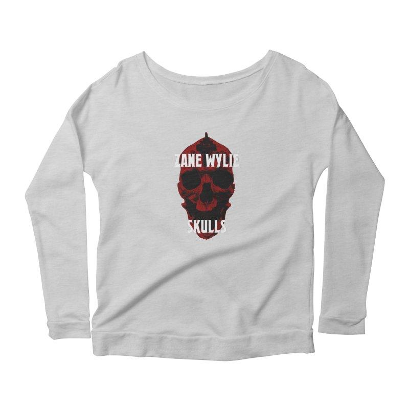 Red Chaplain 3 Women's Scoop Neck Longsleeve T-Shirt by skullprops's Artist Shop