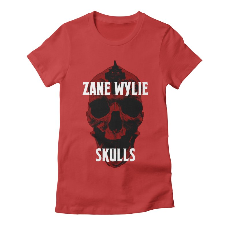 Red Chaplain 3 Women's Fitted T-Shirt by skullprops's Artist Shop