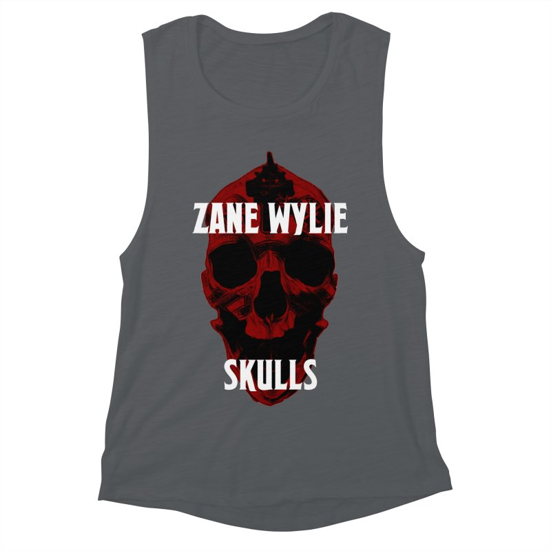 Red Chaplain 3 Women's Muscle Tank by skullprops's Artist Shop