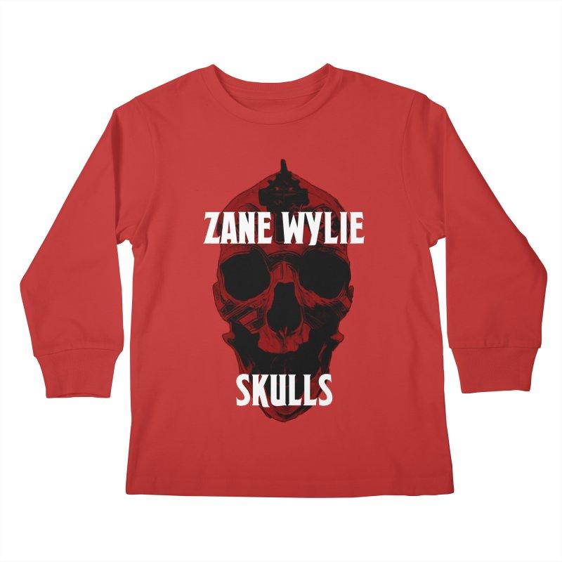 Red Chaplain 3 Kids Longsleeve T-Shirt by skullprops's Artist Shop