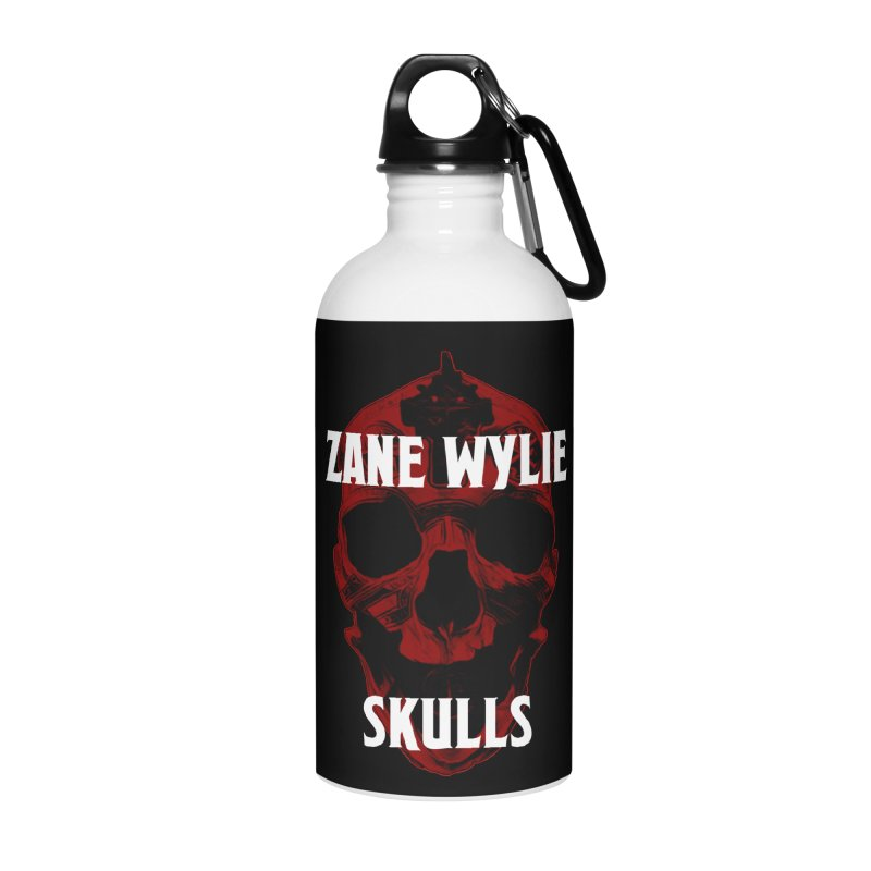 Red Chaplain 3 Accessories Water Bottle by skullprops's Artist Shop
