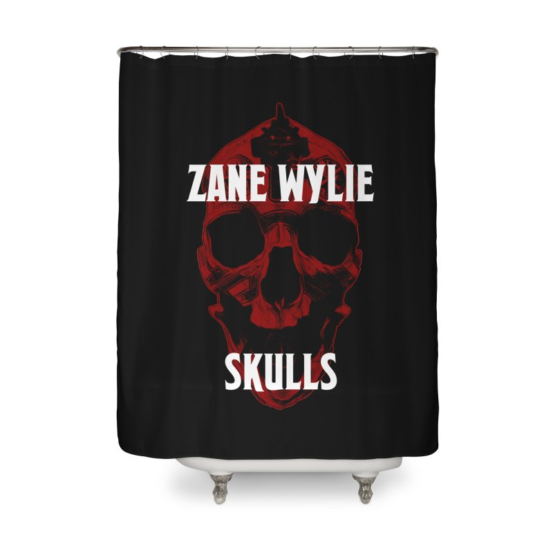 Red Chaplain 3 Home Shower Curtain by skullprops's Artist Shop