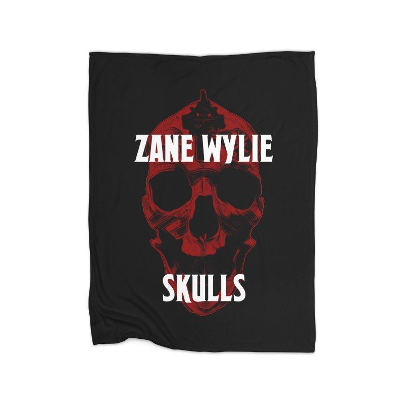 Red Chaplain 3 Home Fleece Blanket Blanket by skullprops's Artist Shop