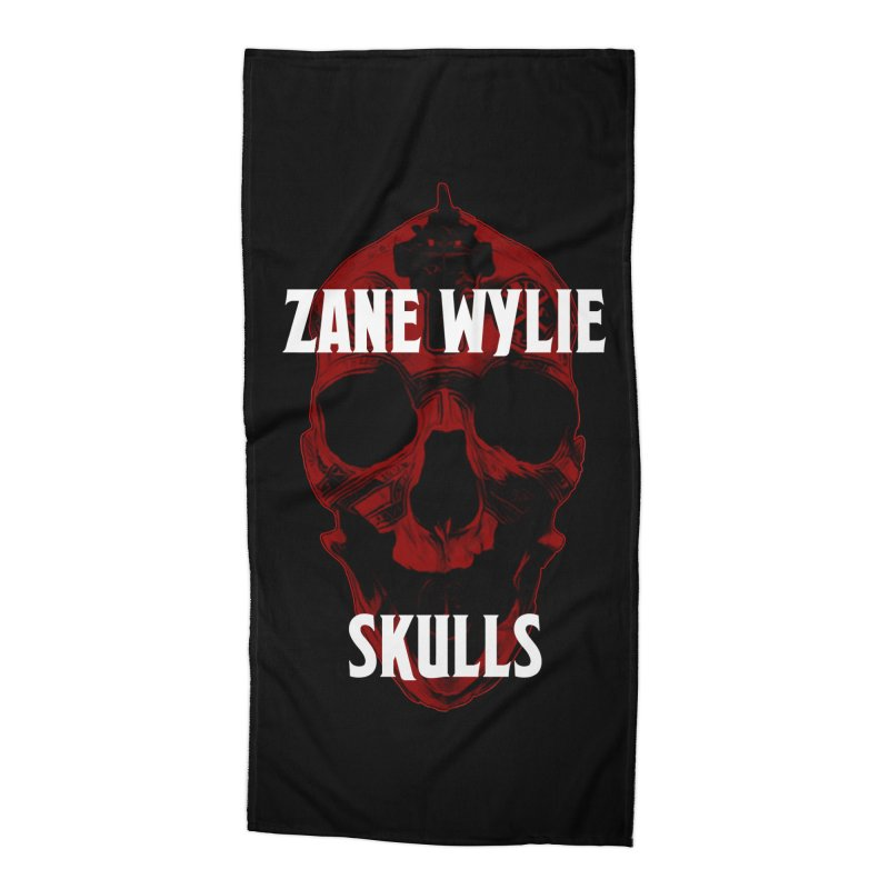 Red Chaplain 3 Accessories Beach Towel by skullprops's Artist Shop