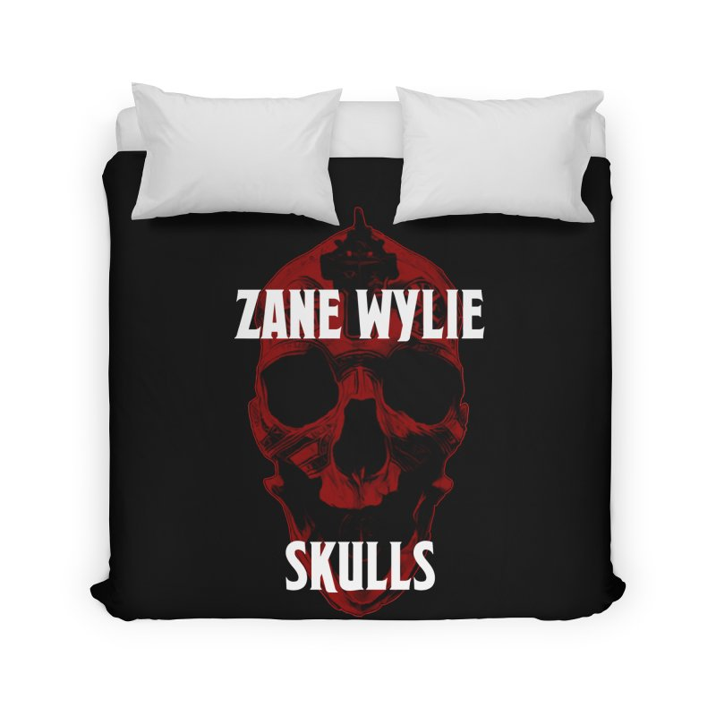 Red Chaplain 3 Home Duvet by skullprops's Artist Shop
