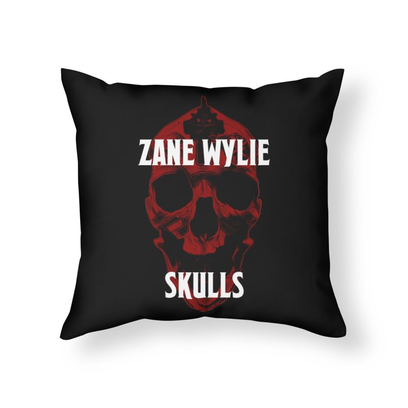 Red Chaplain 3 Home Throw Pillow by skullprops's Artist Shop
