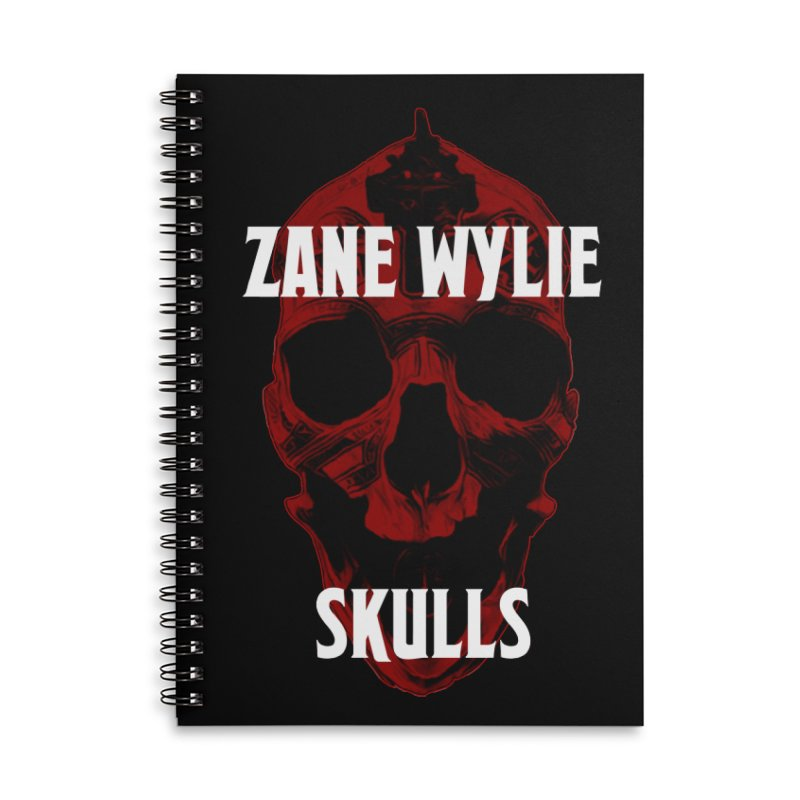 Red Chaplain 3 Accessories Lined Spiral Notebook by skullprops's Artist Shop
