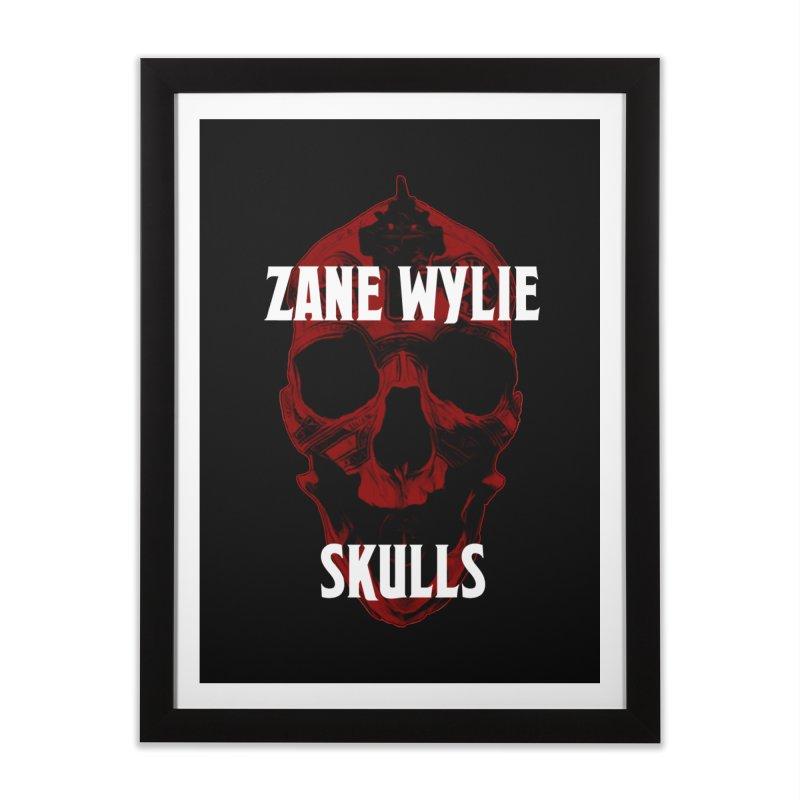 Red Chaplain 3 Home Framed Fine Art Print by skullprops's Artist Shop