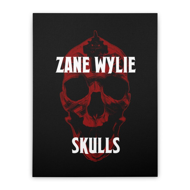 Red Chaplain 3 Home Stretched Canvas by skullprops's Artist Shop