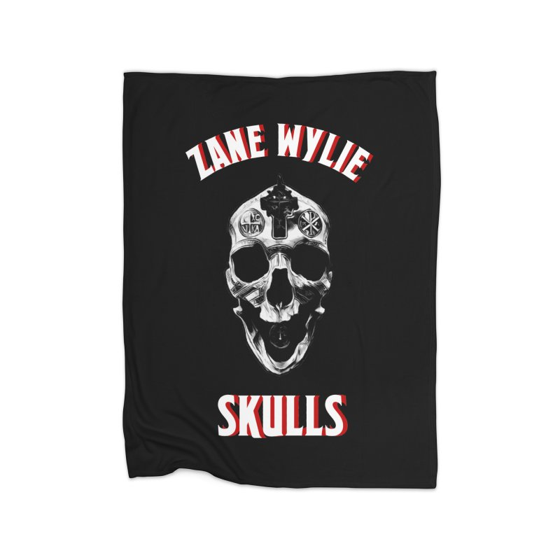 War Chaplain Red 3D Home Blanket by skullprops's Artist Shop