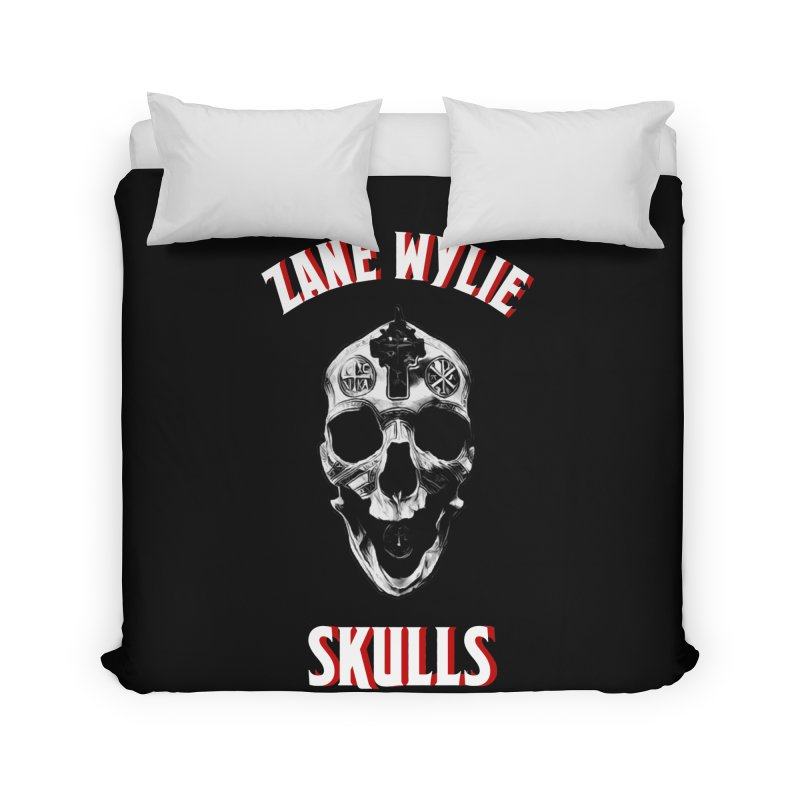War Chaplain Red 3D Home Duvet by skullprops's Artist Shop