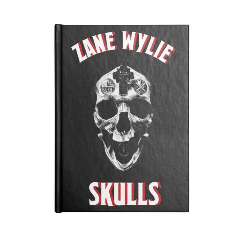 War Chaplain Red 3D Accessories Lined Journal Notebook by skullprops's Artist Shop