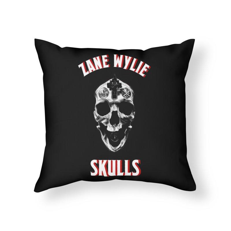 War Chaplain Red 3D Home Throw Pillow by skullprops's Artist Shop