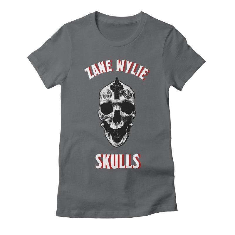 War Chaplain Red 3D Women's Fitted T-Shirt by skullprops's Artist Shop
