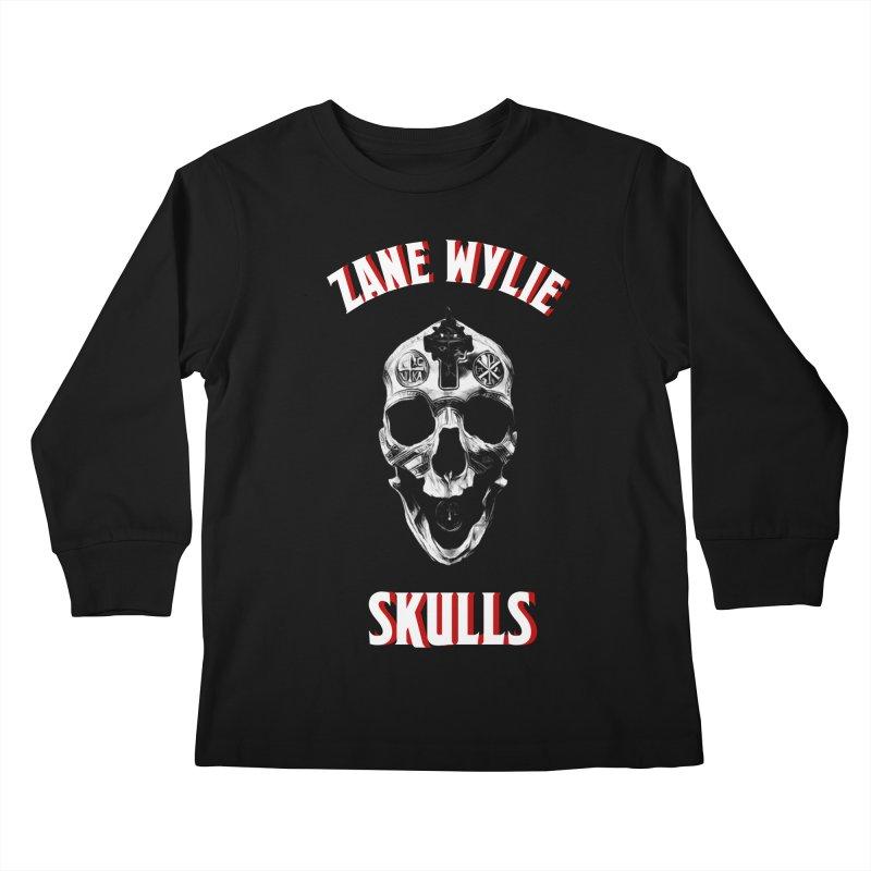 War Chaplain Red 3D Kids Longsleeve T-Shirt by skullprops's Artist Shop