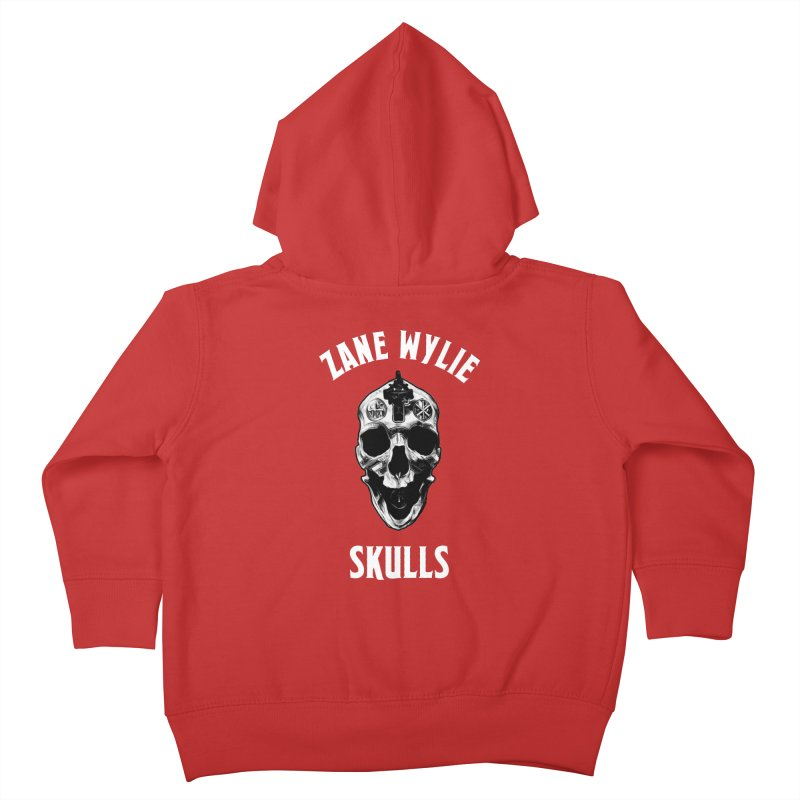 War Chaplain Kids Toddler Zip-Up Hoody by skullprops's Artist Shop