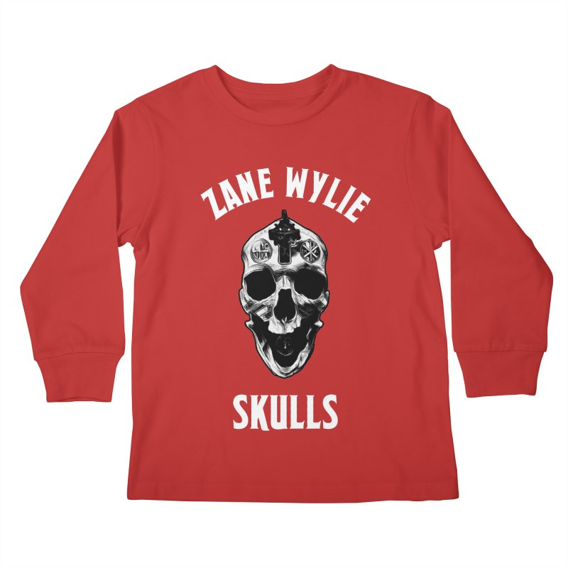 War Chaplain Kids Longsleeve T-Shirt by skullprops's Artist Shop
