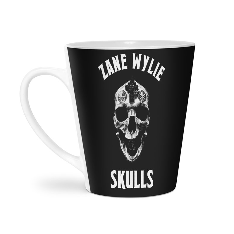 War Chaplain Accessories Latte Mug by skullprops's Artist Shop