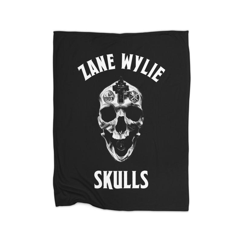 War Chaplain Home Fleece Blanket Blanket by skullprops's Artist Shop
