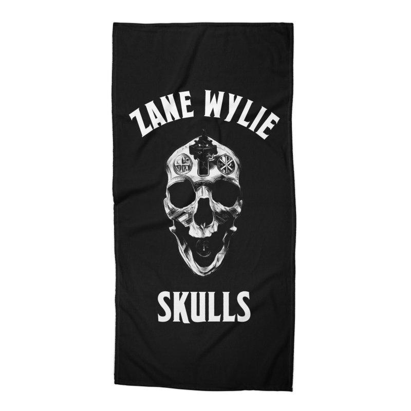 War Chaplain Accessories Beach Towel by skullprops's Artist Shop
