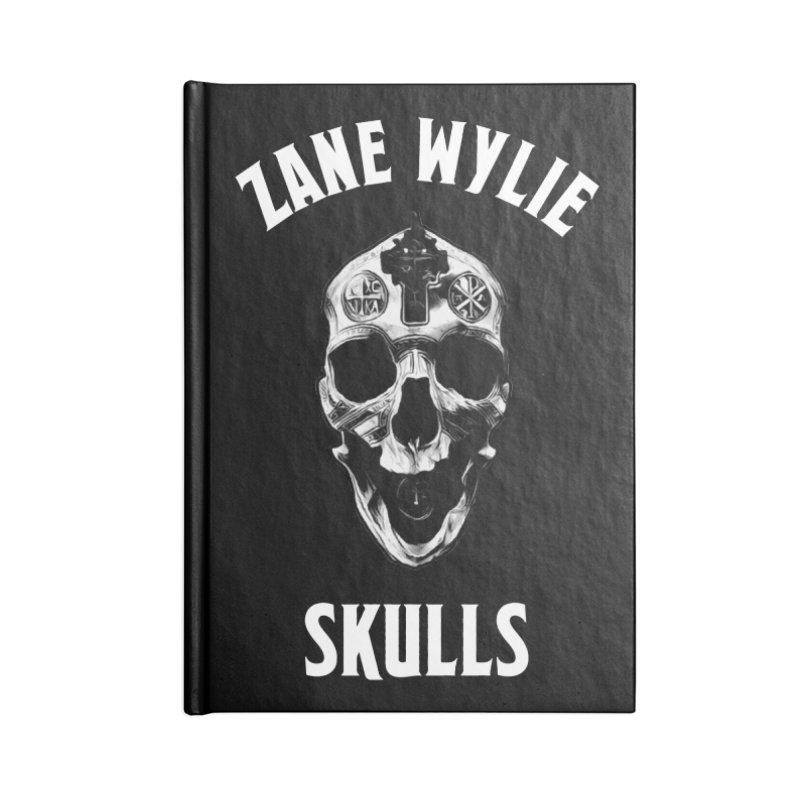 War Chaplain Accessories Lined Journal Notebook by skullprops's Artist Shop