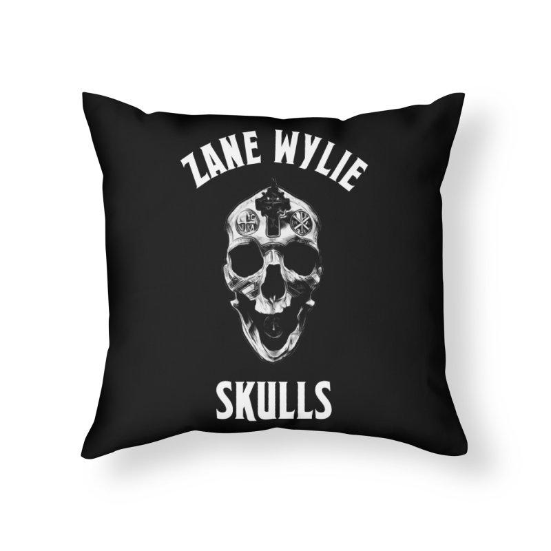 War Chaplain Home Throw Pillow by skullprops's Artist Shop