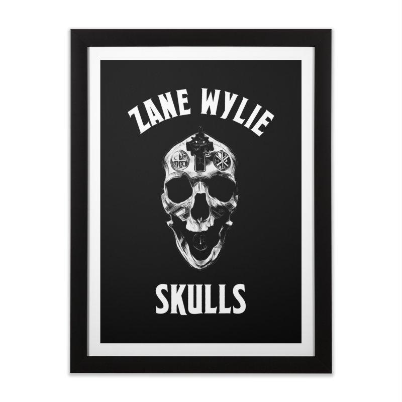 War Chaplain Home Framed Fine Art Print by skullprops's Artist Shop
