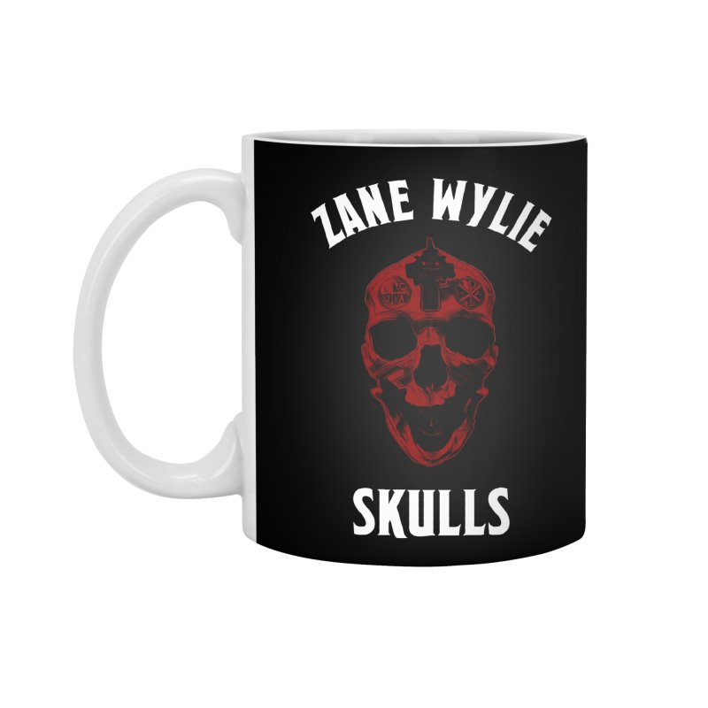 Red Chaplain Banner Accessories Standard Mug by skullprops's Artist Shop