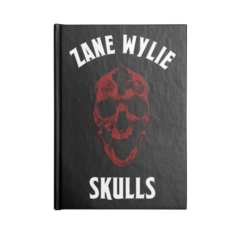 Red Chaplain Banner Accessories Blank Journal Notebook by skullprops's Artist Shop