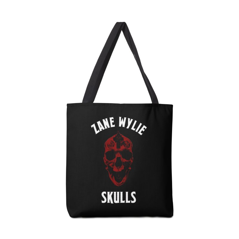 Red Chaplain Banner Accessories Bag by skullprops's Artist Shop