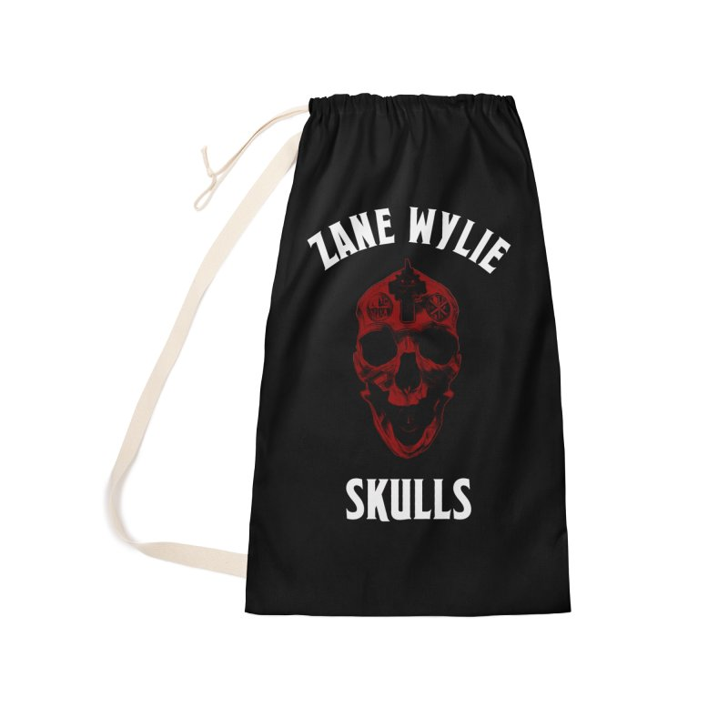 Red Chaplain Banner Accessories Laundry Bag Bag by skullprops's Artist Shop