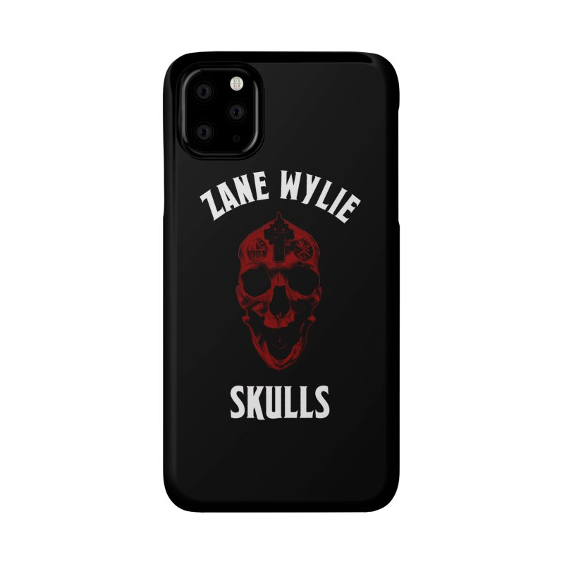 Red Chaplain Banner Accessories Phone Case by skullprops's Artist Shop