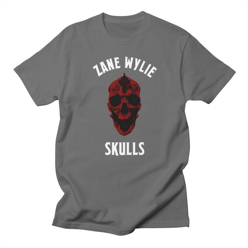 Red Chaplain Banner Men's Regular T-Shirt by skullprops's Artist Shop