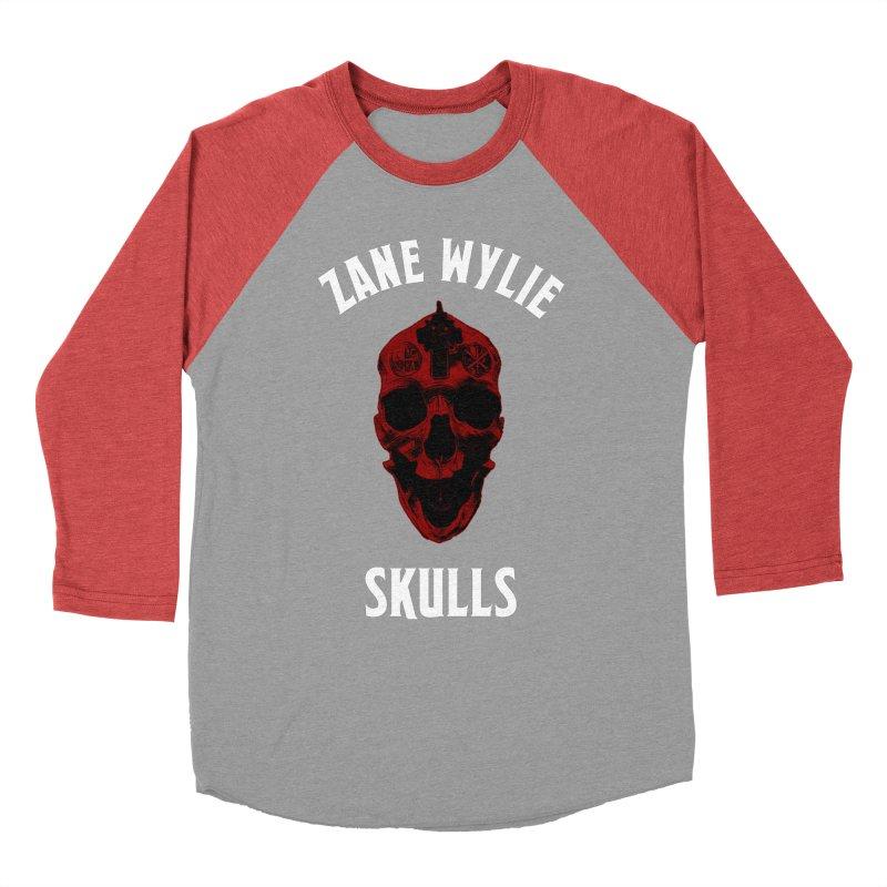 Red Chaplain Banner Women's Baseball Triblend Longsleeve T-Shirt by skullprops's Artist Shop
